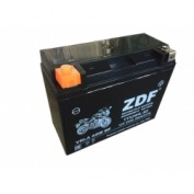 МОТО АКБ 'ZDF MOTO BATTERY' 1224 VRLA BLACK (YTX24HL-BS) (ОБРАТНАЯ)