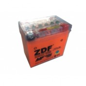 МОТО АКБ 'ZDF MOTO BATTERY' 1205 GEL ORANGE (YTX5L-BS) (ОБРАТНАЯ)