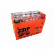 МОТО АКБ 'ZDF MOTO BATTERY' 1207 GEL ORANGE (12N6.5L-BS) (ОБРАТНАЯ)
