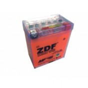 МОТО АКБ 'ZDF MOTO BATTERY' 1207 GEL ORANGE (YTX7L-BS) (ОБРАТНАЯ)