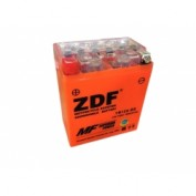 МОТО АКБ 'ZDF MOTO BATTERY' 1214 GEL ORANGE (YB12A-BS) (ПРЯМАЯ)