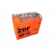 МОТО АКБ 'ZDF MOTO BATTERY' 1220 GEL ORANGE (YT20-4 ) (ПРЯМАЯ)